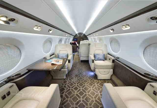 перелет самолетом Gulfstream G550