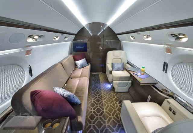 бизнес джет Gulfstream G550 в России