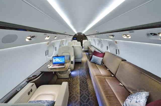 аренда самолета Gulfstream G550
