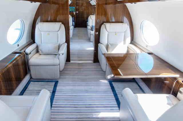 перелет самолетом Gulfstream G650