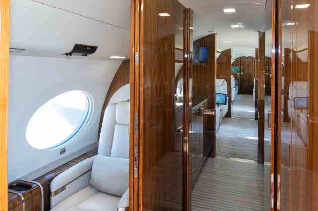 фото частного самолета Gulfstream G650