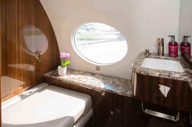бизнес джет Gulfstream G650 в России