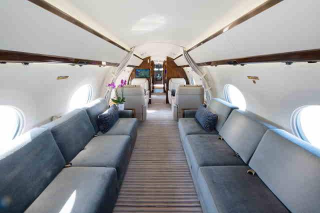 аренда самолета Gulfstream G650