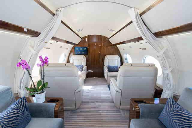 арендовать бизнес джет Gulfstream G650