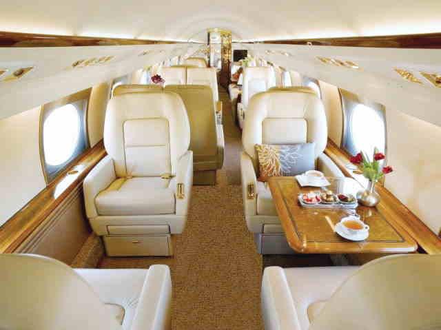перелет самолетом Gulfstream GIV