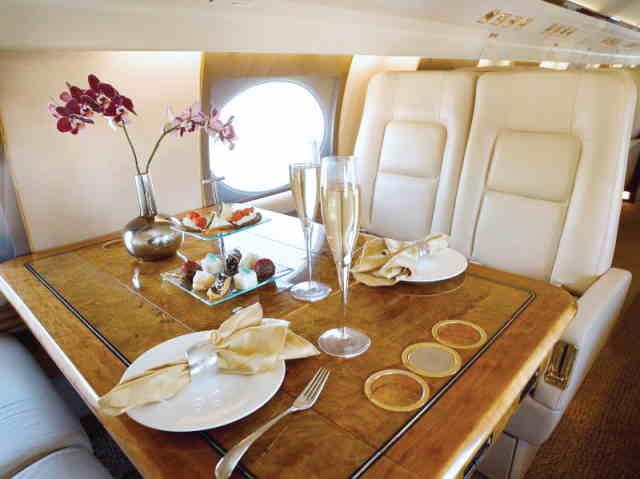 фото частного самолета Gulfstream GIV