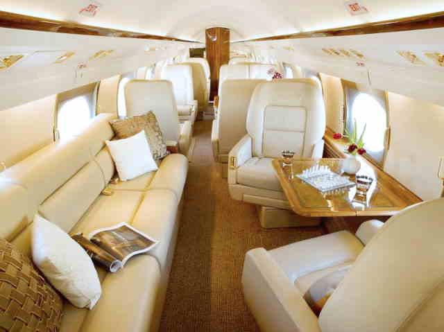 бизнес джет Gulfstream GIV в России