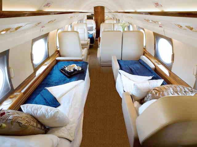 аренда самолета Gulfstream GIV