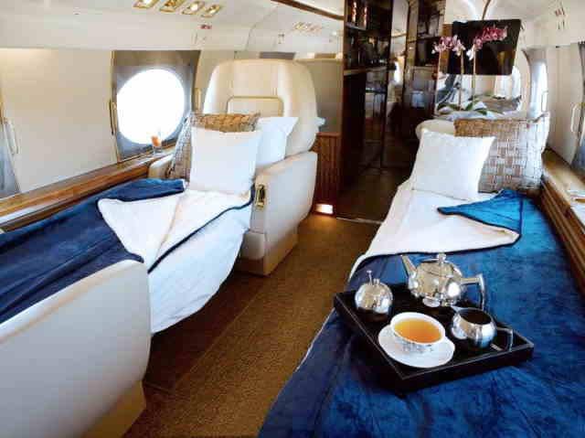 арендовать бизнес джет Gulfstream GIV