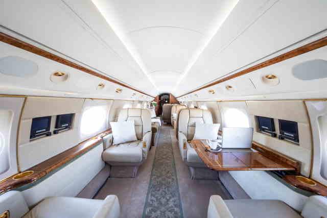 перелет самолетом Gulfstream GV
