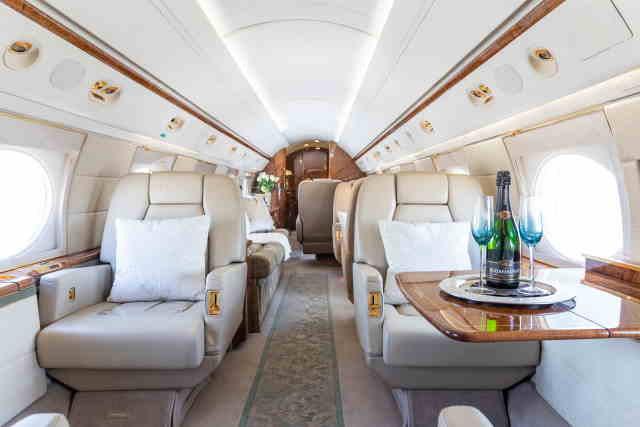 бизнес джет Gulfstream GV в России