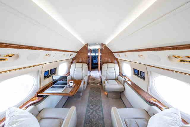 арендовать бизнес джет Gulfstream GV