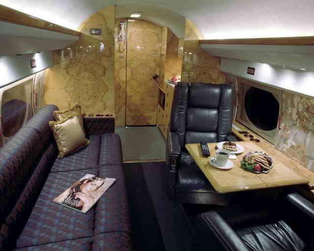 перелет самолетом Gulfstream II
