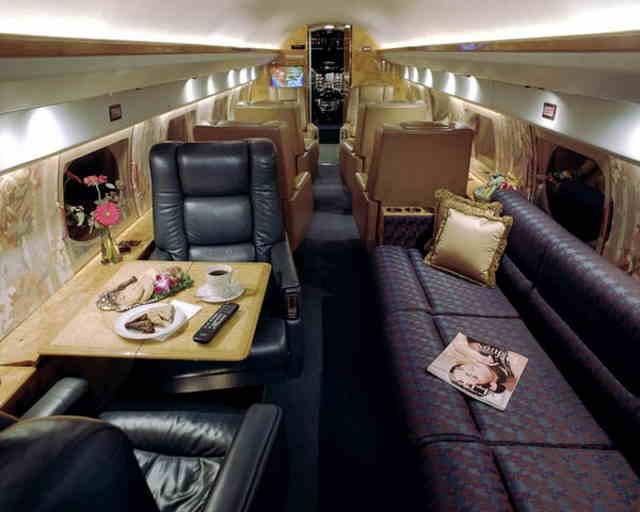 фото частного самолета Gulfstream II