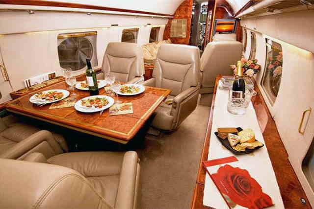 бизнес джет Gulfstream II в России