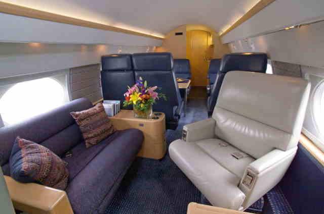 арендовать бизнес джет Gulfstream II