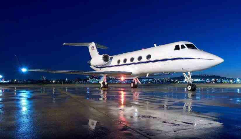 самолет Gulfstream IISP