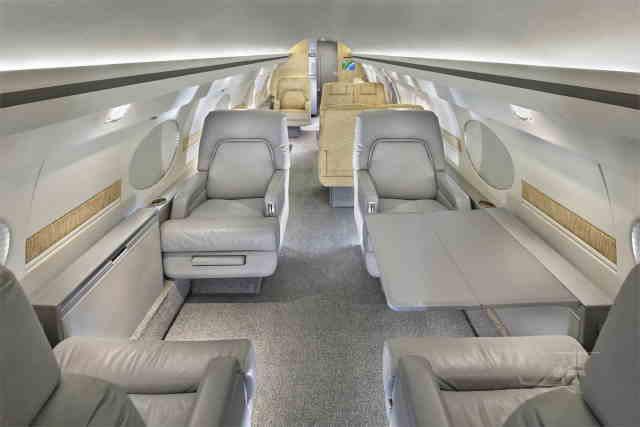 перелет самолетом Gulfstream IISP