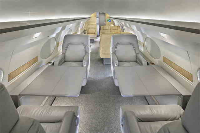 фото частного самолета Gulfstream IISP