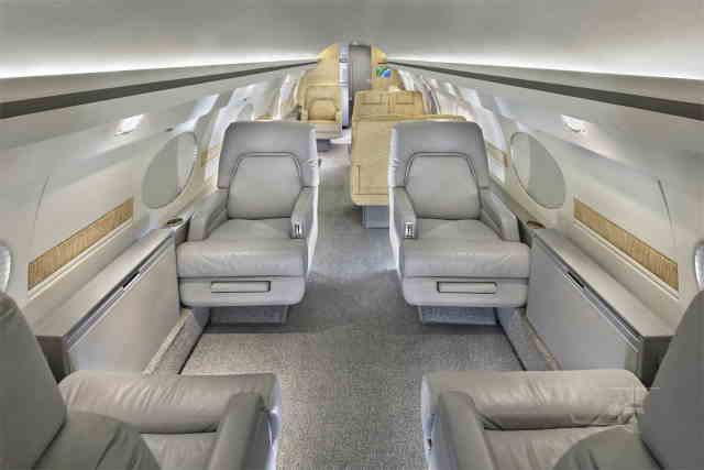 бизнес джет Gulfstream IISP в России