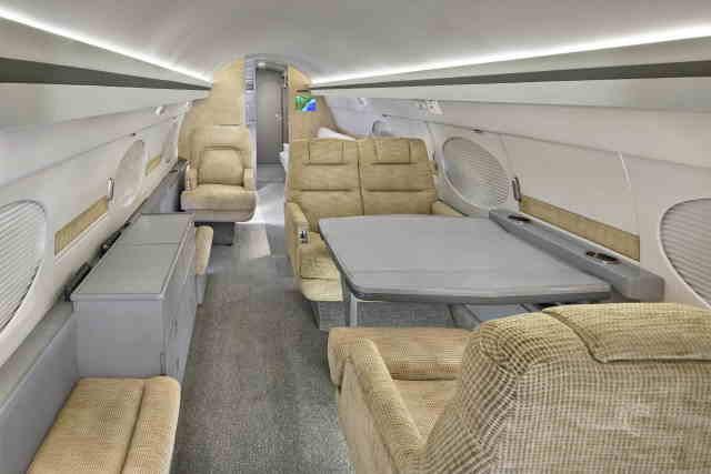 аренда самолета Gulfstream IISP