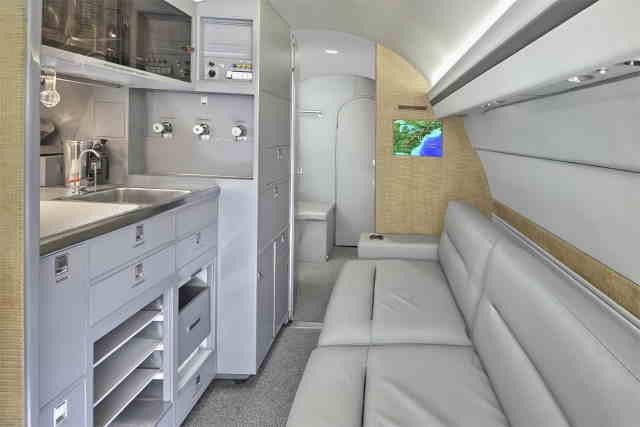 арендовать бизнес джет Gulfstream IISP