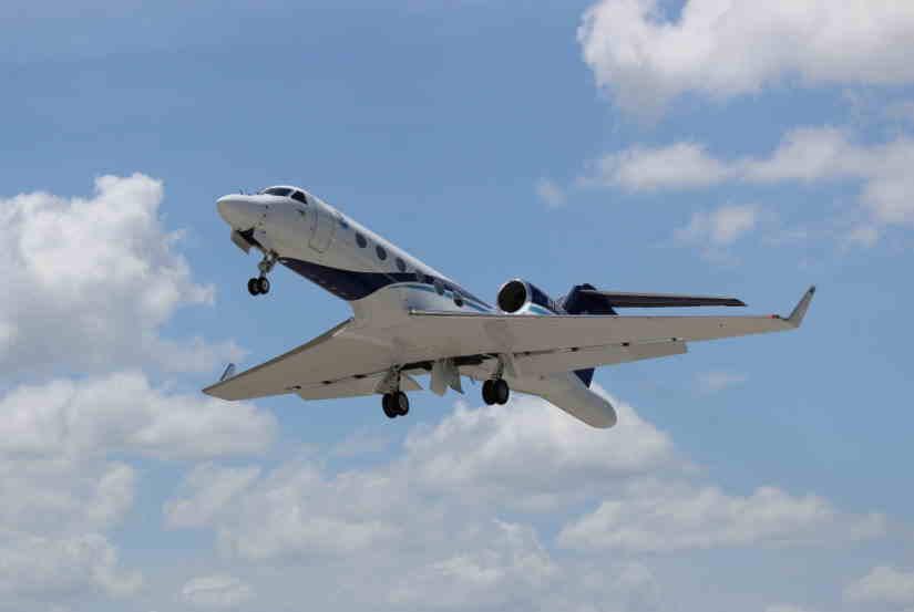 самолет Gulfstream IVSP