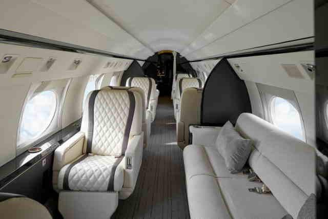 перелет самолетом Gulfstream IVSP