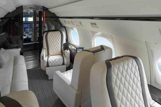 фото частного самолета Gulfstream IVSP