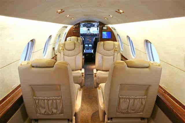 перелет самолетом Hawker 400XP