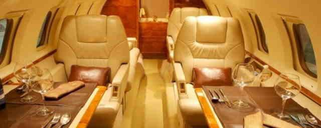 перелет самолетом Hawker 800B