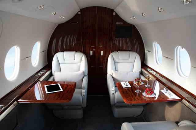 фото частного самолета Hawker Horizon