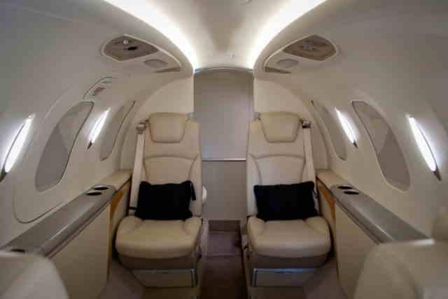 перелет самолетом HondaJet HA-420