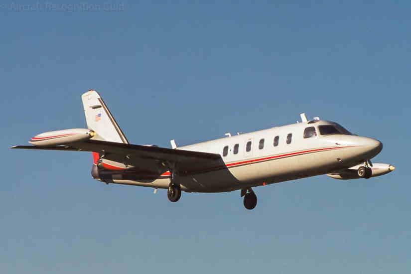 самолет Israel IAI-1124 Westwind II