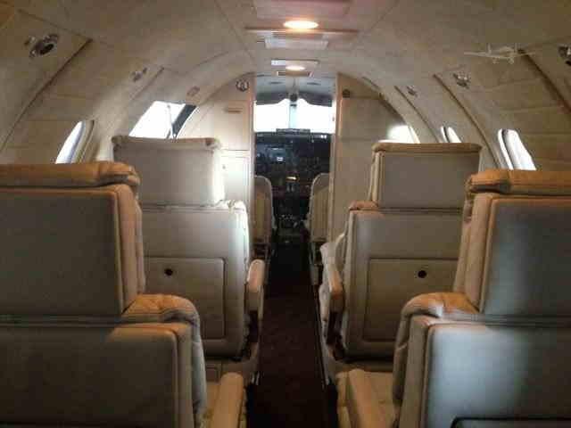 бизнес джет Learjet 25 в России
