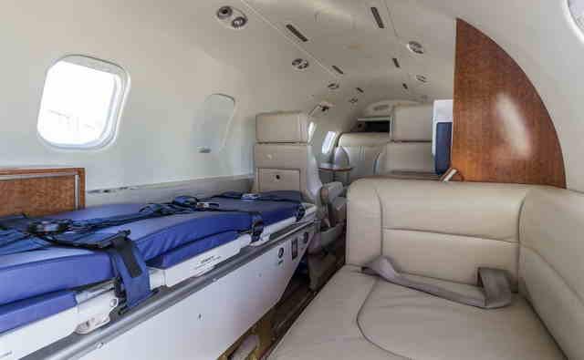 бизнес джет Learjet 31 в России