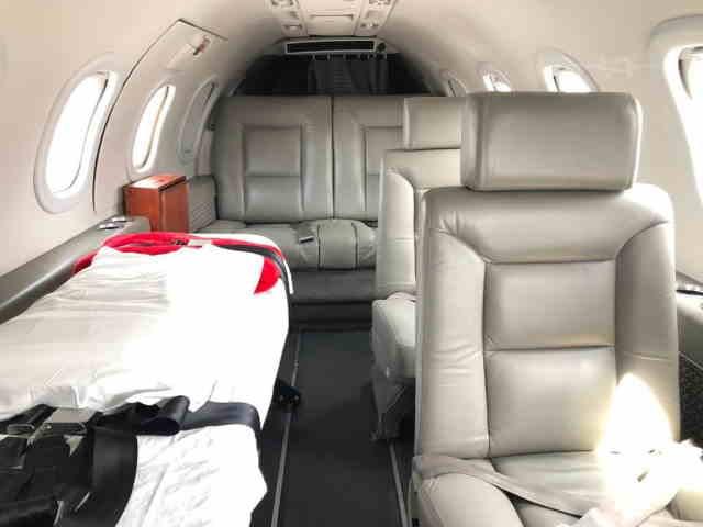 бизнес джет Learjet 35 в России