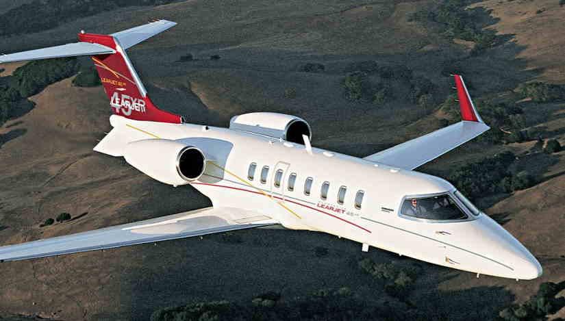 самолет Learjet 45 XR