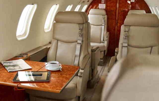перелет самолетом Learjet 45 XR