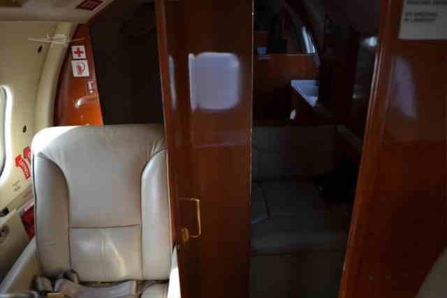 фото частного самолета Learjet 55