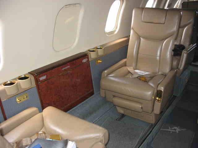 аренда самолета Learjet 55