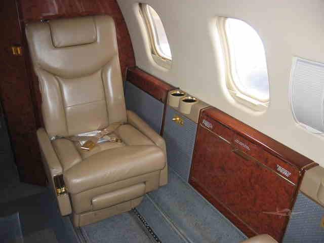 арендовать бизнес джет Learjet 55