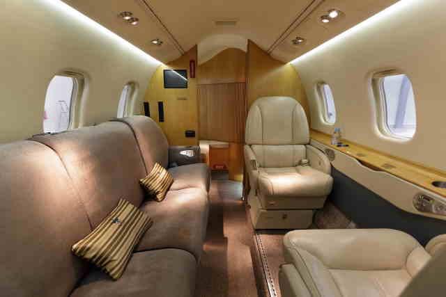 перелет самолетом Learjet 60