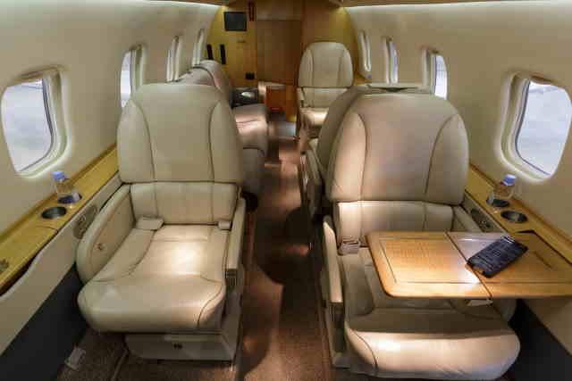 бизнес джет Learjet 60 в России