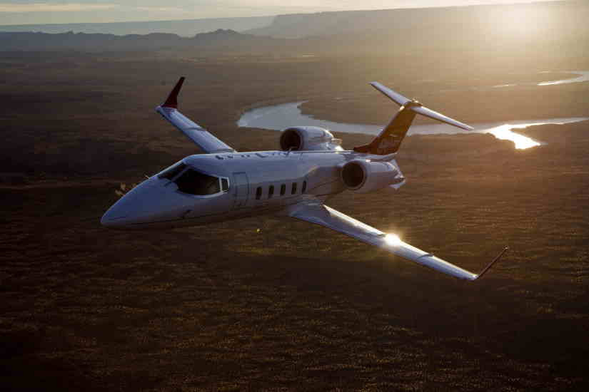 самолет Learjet 60XR