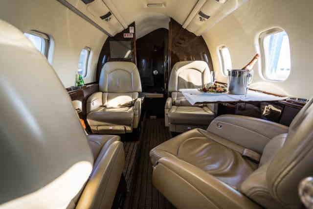 фото частного самолета Learjet 60XR