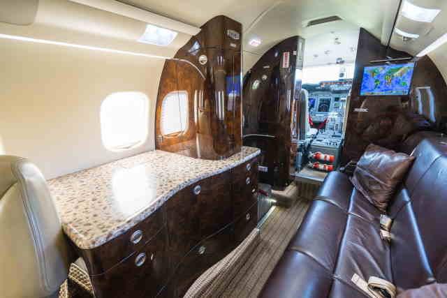аренда самолета Learjet 60XR