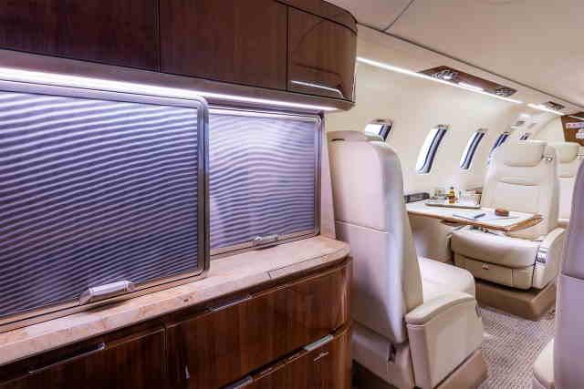 бизнес джет Learjet 70 в России