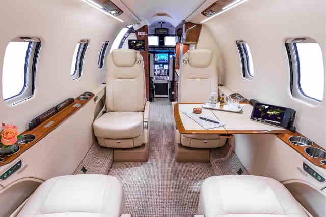 аренда самолета Learjet 70