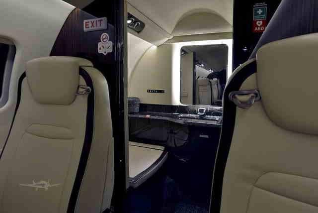 перелет самолетом Learjet 75